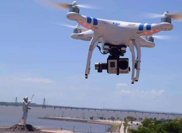 por que se usan estos drones